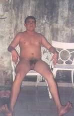 João Carlos na primeira vez em local naturista